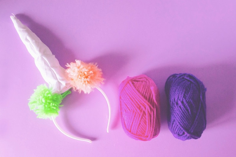 how to make unicorn horn headband