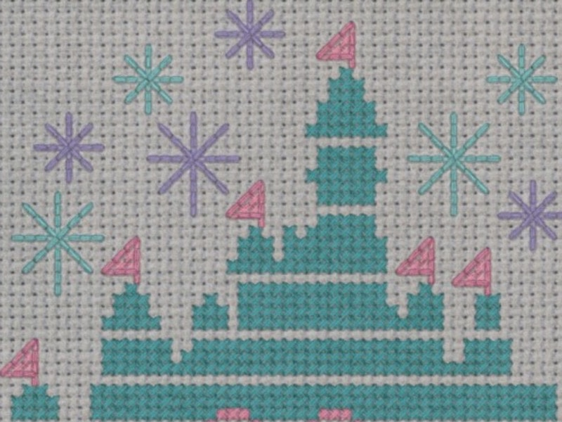 Magical Disney Castle Cross Stitch 183 How To Cross Stitch