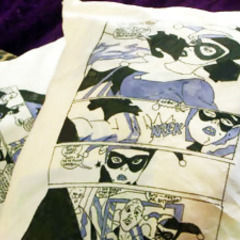 Comic Book Cushions