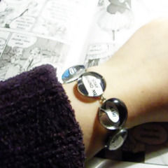 Speech Bubble Bracelet