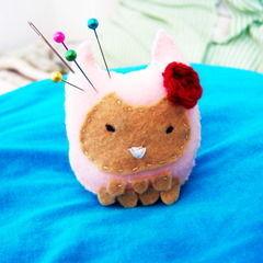 Super Cute Owl Pin Cushion