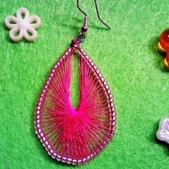 Yarn/Wire Earrings <3