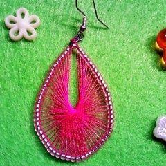 Yarn/Wire Earrings <3