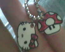 Shrinky Dink Necklace Charms
