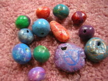 Homemade Clay Beads