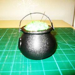 Cauldron Pincushion