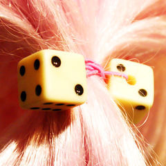 Dice Hair Bobbles