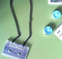 Tape Necklace