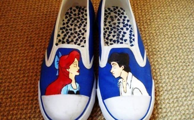 The Little Mermaid Shoes