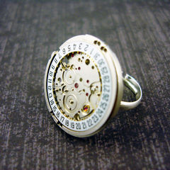 Steampunk Y Ring