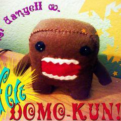 Felt Domo Kun