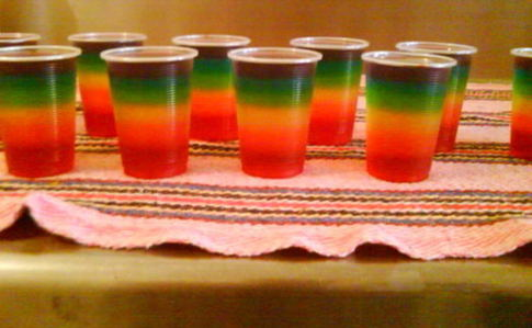 Individual Rainbow Jelly