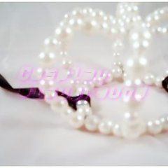 White Beaded Mini Crown