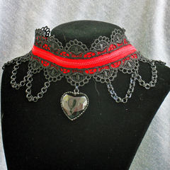 Lolligoth Zipper Collar