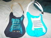 Guitar Shaped Bag