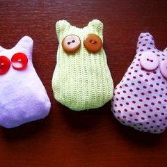 Fabric Cats (Or Something Like That)