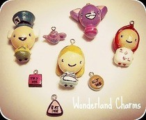 Alice In Wonderland Charms