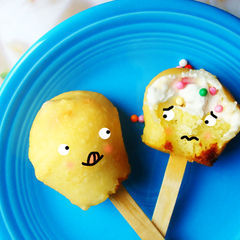 Deep Fried Cupcakes On A Stick