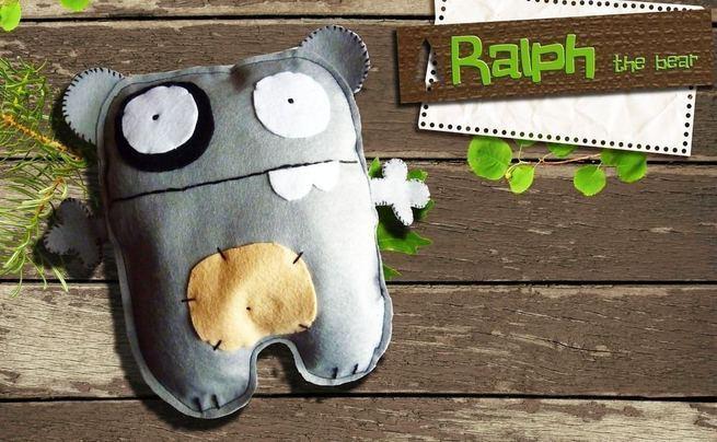 Ralph: The Felt Bear