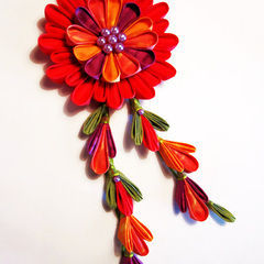 Super Dyed Kanzashi Flowers
