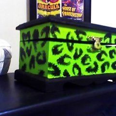 Psychobilly Jewlery Boxes