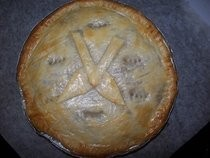 """Beef"" And Stout (sensitive) Man Pie"