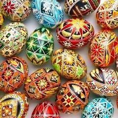 Traditional Easter Eggs (No Special Supplies)