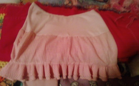 Boyshorts Transformed To A Cute Skirt
