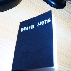 Death Note Mini Book