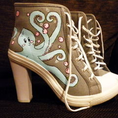 Octo Canvas Heels