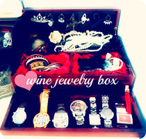 Wine Box = Jewelry Box