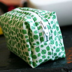 Make A Pouch With Your Own Fabric