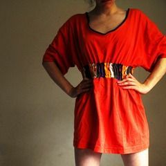 Diy Couture Tshirt Dress
