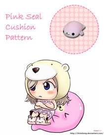 Pink Seal Plushie