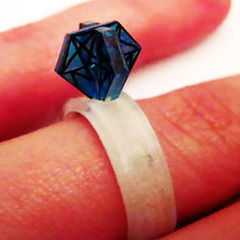 (Easy) 3 D Shrinky Dink Diamond Ring