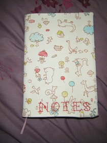 Handmade Notebook Cover