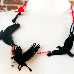 Silhouette Bird Necklace