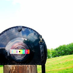 Make A Purse From Vinyl Records