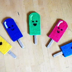 Sweet Felt Treat Magnets