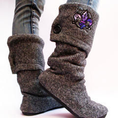 Sweater Boots!!
