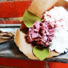 T Shirt Flower Wedding Bouquet