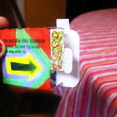 Portable Idea Dispenser
