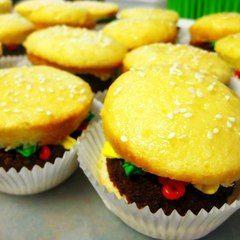 Cheeseburger Cupcakes