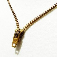 DIY Zipper Necklace