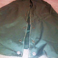 Green Canvas Cloak