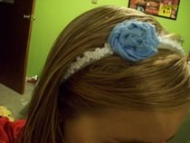 D.I.Y Flower Head Band