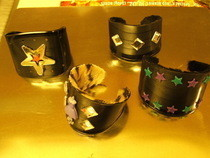 Vinyl Record Cuffs