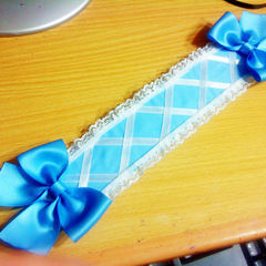 An Almost Entirely No Sew Lolita Headband