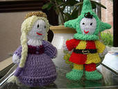 Knitted Animation Cast