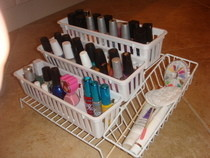 Inexpensive Nail Polish Rack